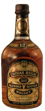 Chivas Regal Blended Scotch Whisky 12 year old label