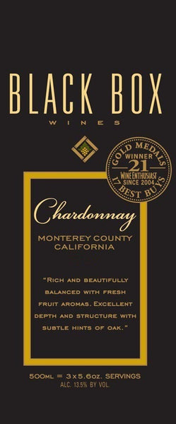 Black Box Chardonnay 3L label