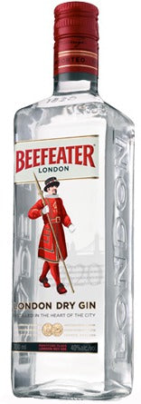 Beefeater London Dry Gin 1.75L label