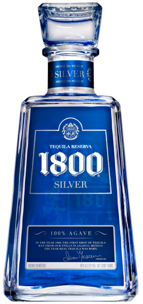 1800 Tequila Silver Tequila 1.75L label