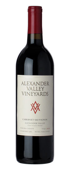 Alexander Valley Vineyards Estate Cabernet Sauvignon label