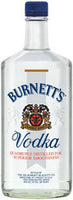 Burnett's Vodka 1.75L label
