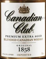 Canadian Club Blended Canadian Whisky 1.75L label