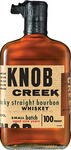 Knob Creek Kentucky Straight Bourbon Whiskey 9 year old label