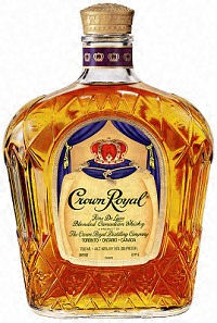 Crown Royal Blended Canadian Whisky 1.75L label