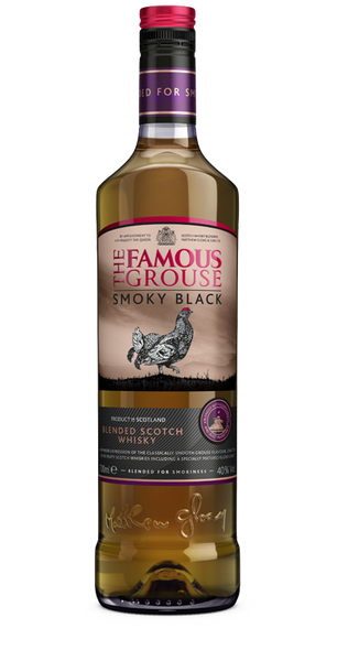 FAMOUS SMKY BLACK GROUSE MALT WHISKY .750L WHIS-SCOTCH label