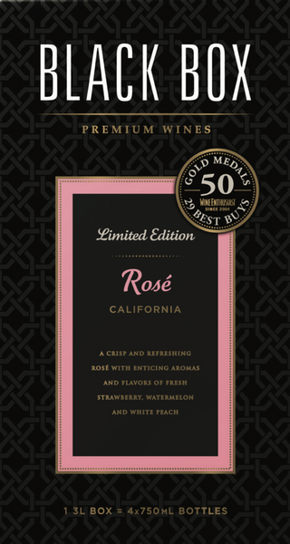 Black Box Rose 3L label