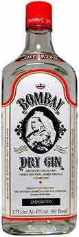 Bombay Distilled London Dry Gin 1.75L label