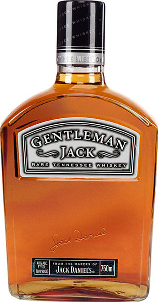 Jack Daniel's Gentleman Jack Rare Tennessee Whiskey 1.75L label
