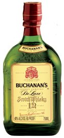 Buchanan's DeLuxe Blended Scotch Whisky 12 year old label