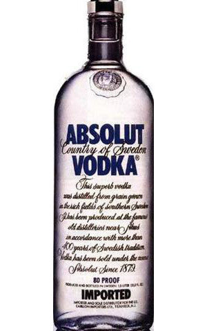 Absolut Vodka 750ml