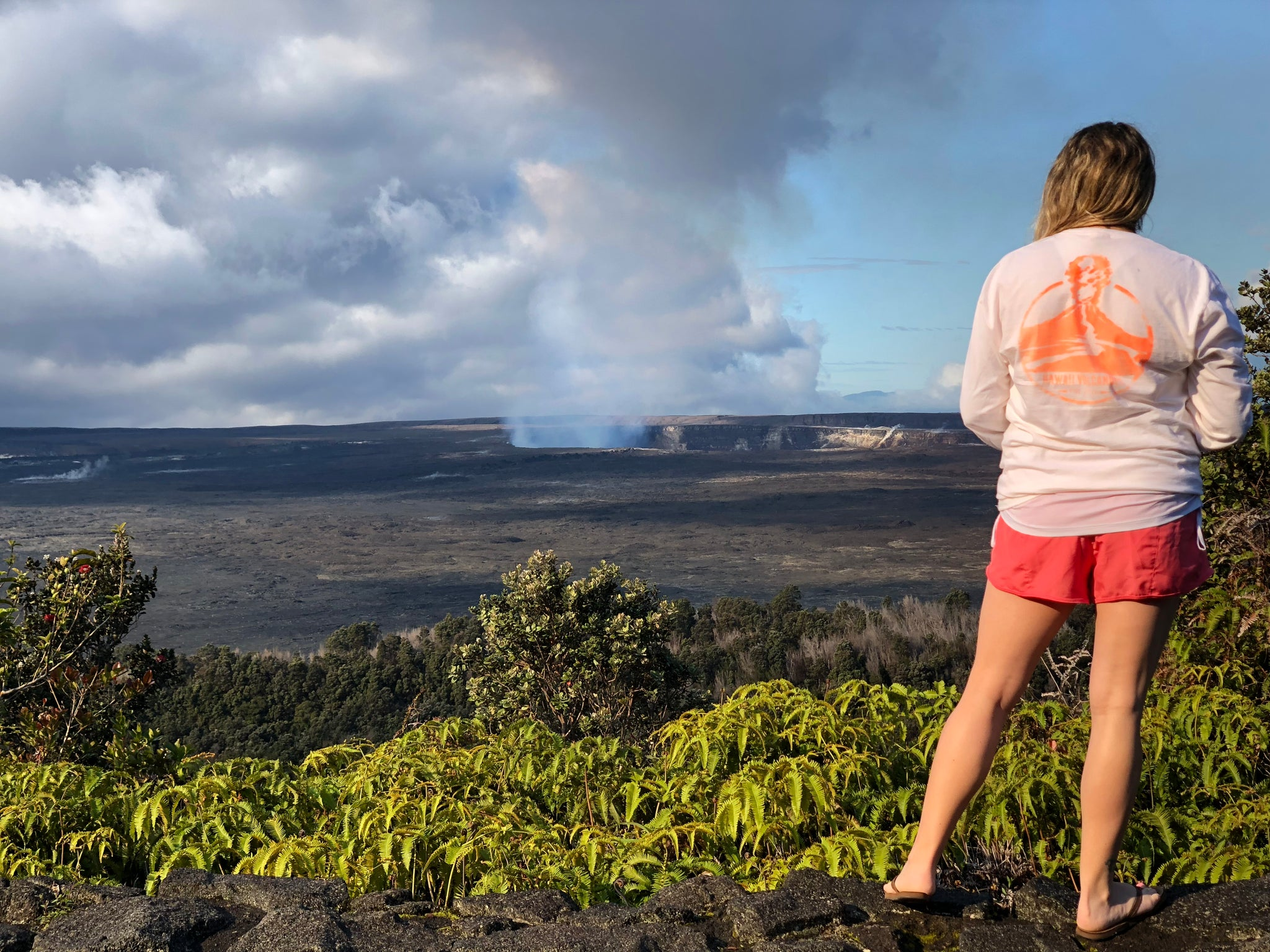 Hawaii Volcanoes National Park Tee