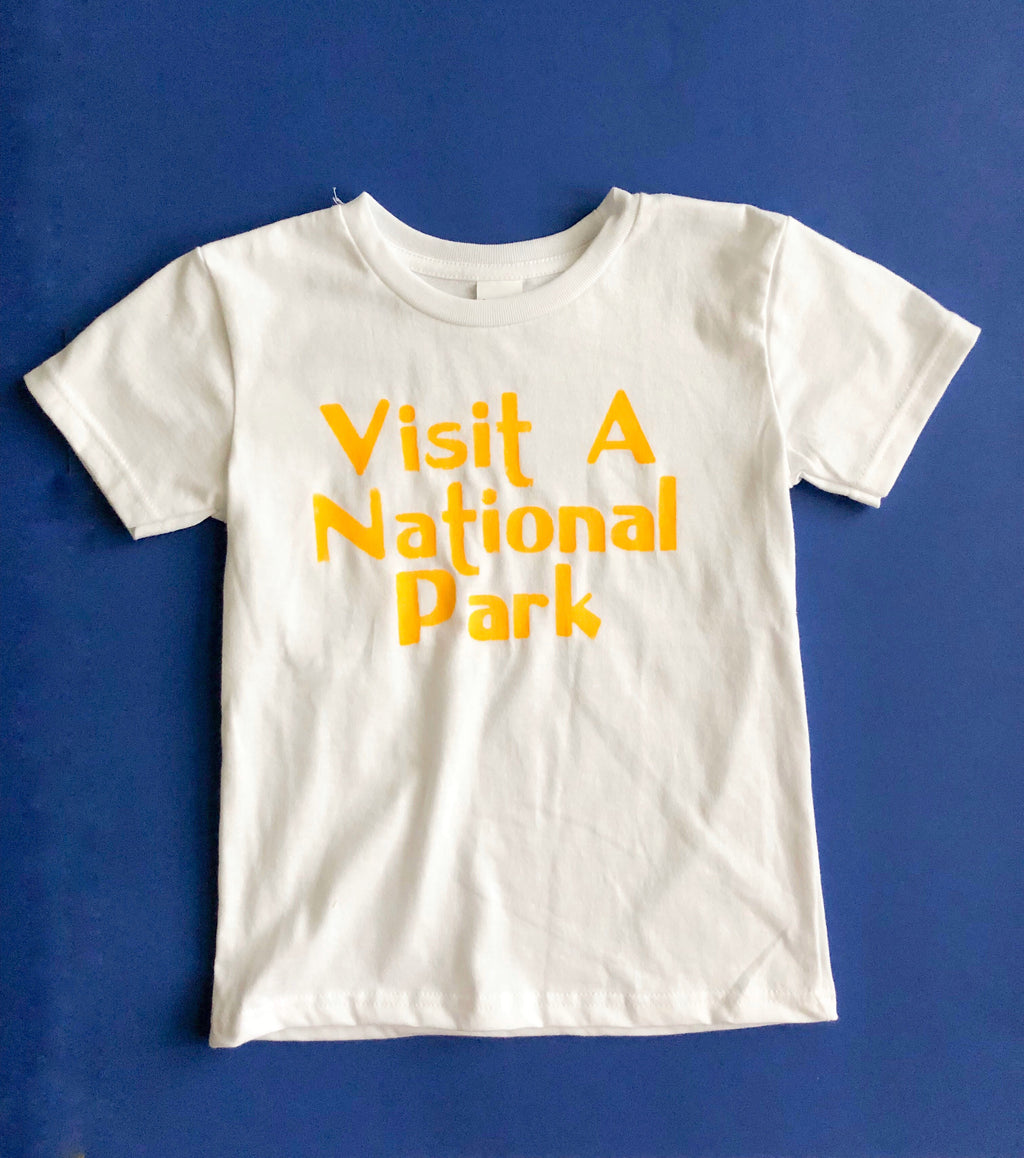 Kid's Visit a National Park Tee