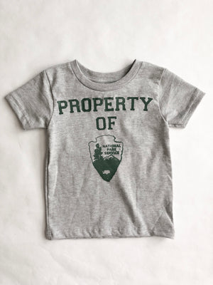 Kid's National Park Property Tee