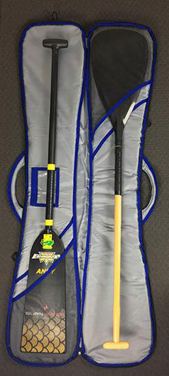 Burnwater Multi Paddle Travel Bag Inside