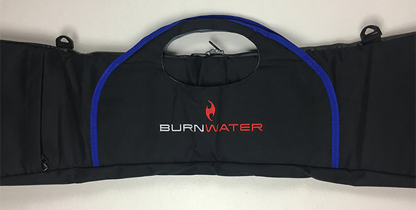 Burnwater Multi Paddle Travel Bag Logo Blue