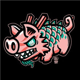 Shirt Burnwater Dragon Pig