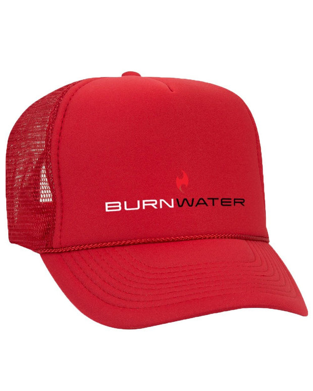 Burnwater Hat Trucker OTTO Red
