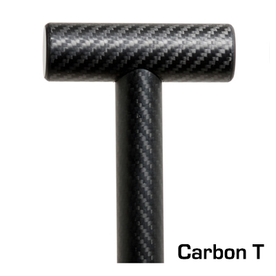 Burnwater Carbon Fiber Dragon Boat Paddle Reactor III Carbon T Handle