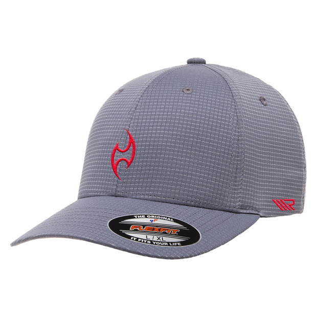 Burnwater Hat - Black Flexfit Hydro 6587