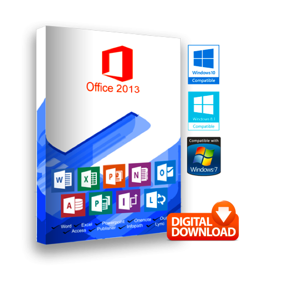 Microsoft Office 2013 for Windows
