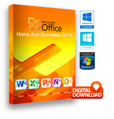 Microsoft Office 2010 Home & Business for Windows