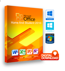 Microsoft Office 2010 Home & Student for Windows