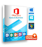 Microsoft Office  2013 Home & Business for Windows - Smart SofTech