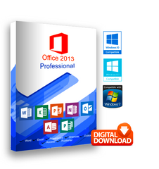 Microsoft Office  2013 Professional for Windows