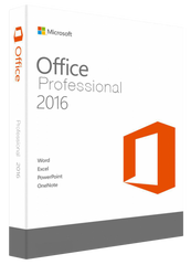 Microsoft Office 2016 Professional for Windows