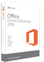 Microsoft Office 2016 Home & Business for Windows