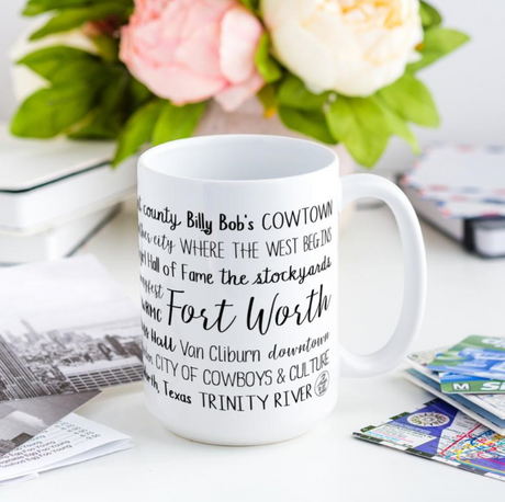Fort Worth Everything Mug - Black