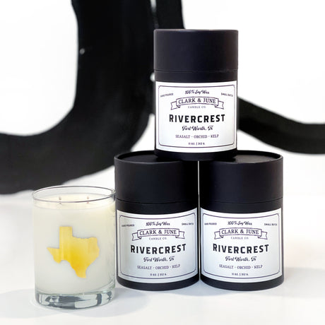RIVERCREST Cocktail Candle