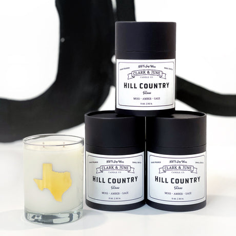HILL COUNTRY Cocktail Candle