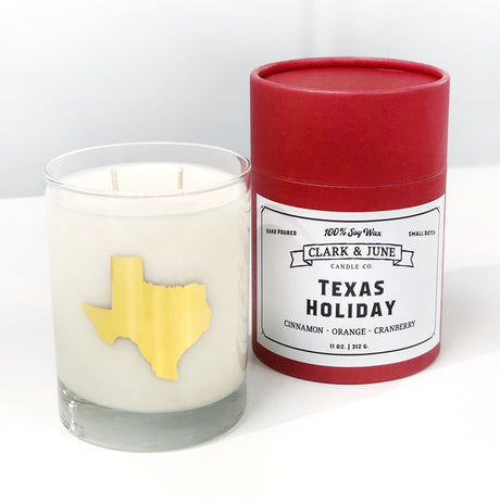 Texas Holiday Cocktail Candle