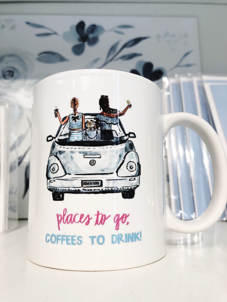 Places to go Coffee to drink mug!