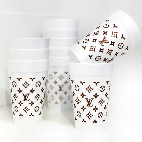 Louis Vuitton Styrofoam Cups