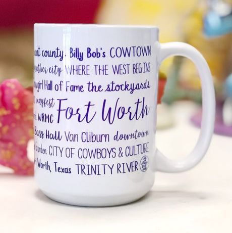 Fort Worth Everything Mug - Purple