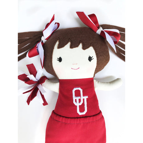 OU Cheerleader Doll