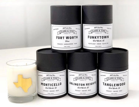 FORT WORTH Cocktail Candle