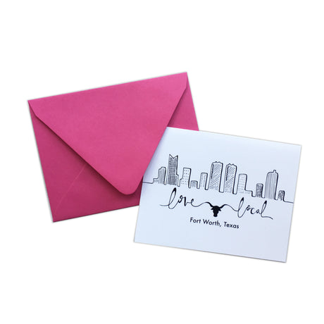 Love Local Note Card Set
