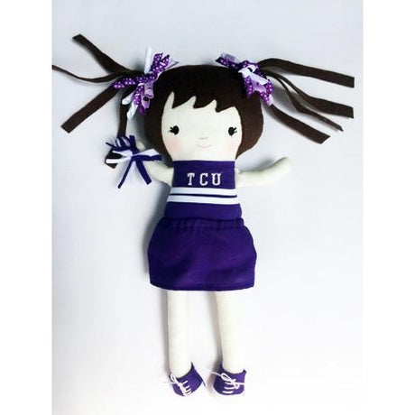 TCU Cheerleader Doll