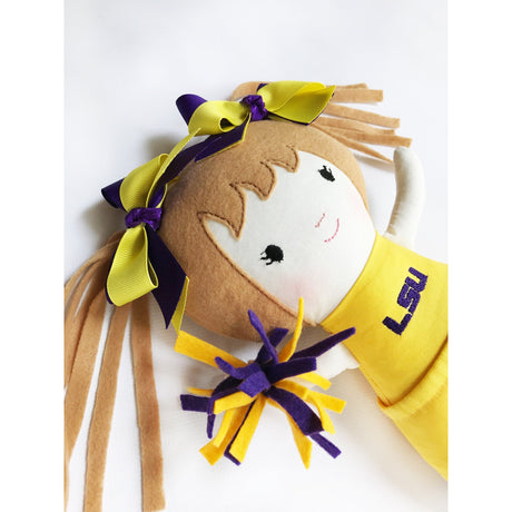 LSU Cheerleader Doll