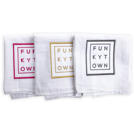 Funkytown Tea Towel