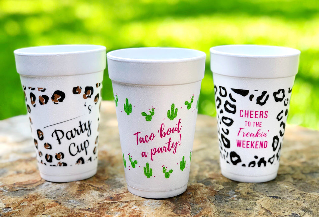 Taco 'Bout a Party! Party Cups