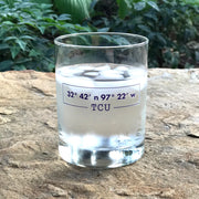 TCU Coordinates Double Old Fashion Glass