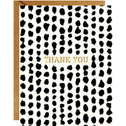 Polka Dot Thank You