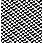 Black Texas Houndstooth Wallpaper
