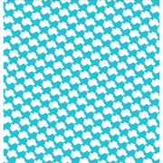 Turquoise Texas Houndstooth Wallpaper