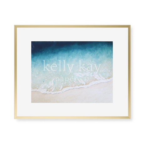Kelly Kay Art Print - Beach Wave